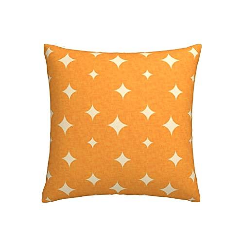 Funda de cojín Backyard Winter Birds Star Pearl con cremallera, para cama infantil, sofá o sofá