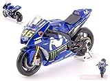 MAISTO MI31594R Yamaha Valentino Rossi 2018 MotoGP N.46 1:18 MODELLINO Die Cast
