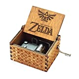 Spieluhr Zelda Music Box 18 Note Antique Carved Musical Box Best Gift for Kids, Friends (2-Wood)