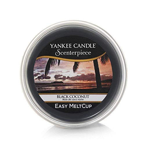 Yankee Candle Scenterpiece Melt Cups, Noce di Cocco Nera