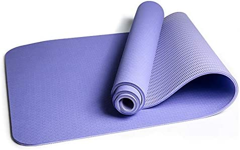 Q1 Yoga Mat Eco-Friendly Non-Slip Double Exercise Fitne free Rapid rise shipping Color