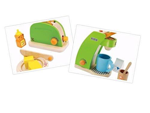MaMeMi Frühstücks-Set: Kaffeemaschine und Toaster von Hape
