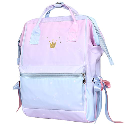 Fashion Cute Backpacks for Teen Girls - School Bookbags for Girls College Student- Waterproof Travel Backpack for Women
