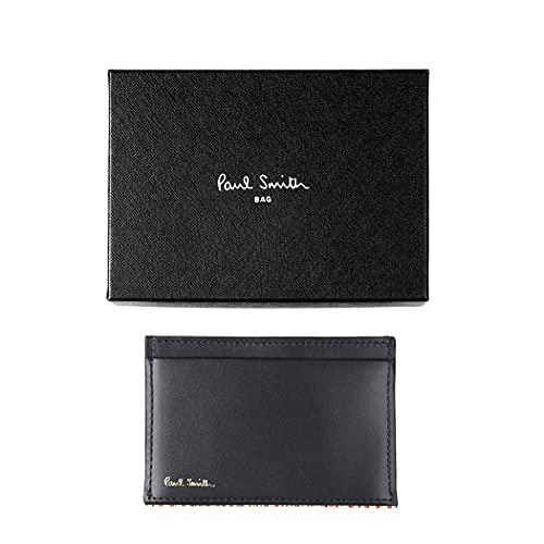 ポールスミスPaulSmithストライプポイントパスケース定期入れカードケース単パスメンズ純正化粧箱ショップバッグ付き873301PSC751(ネイビー)