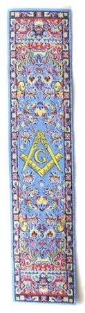 Square & Compass Blue Masonic Bookmark - [7'' x 2'']