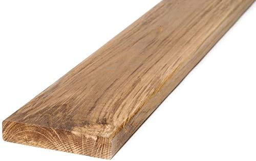 Terrassendielen aus Teakholz von BioMaderas®, 95mm Breite, 19mm Stärke (60 cm Länge)