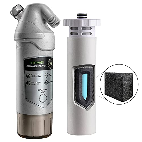 Miniwell L720-Plus Shower Water Filter System-High output...