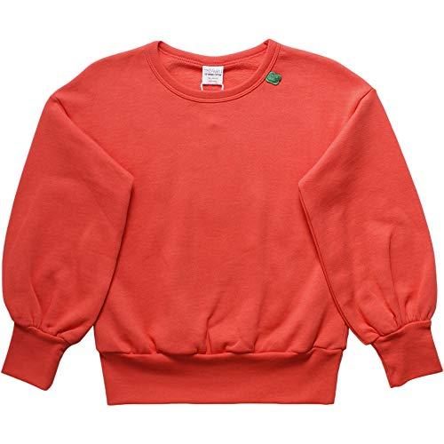 Fred'S World By Green Cotton Sweat-Shirt, Orange (Warm Coral 018164901), 98 Bébé Fille
