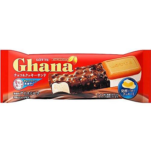 ロッテ ガーナチョコ&クッキーサンド76ml×24袋