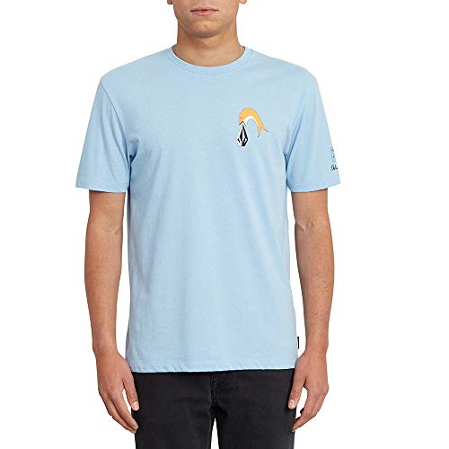 Volcom P. C. Ayers FA SS T-Shirt pour Homme S Mysto - Vert