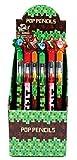 24 Pcs Pixel Miner Themed Multi Point Pencils Party Favor Mine Pixel Craft Classroom Rewards Prizes Goody Bag Treat Bag Stuffers