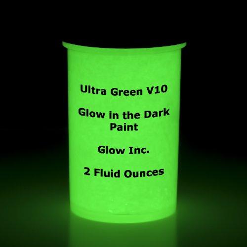 Glow Inc Ultra-Green Water Based Paint 2oz