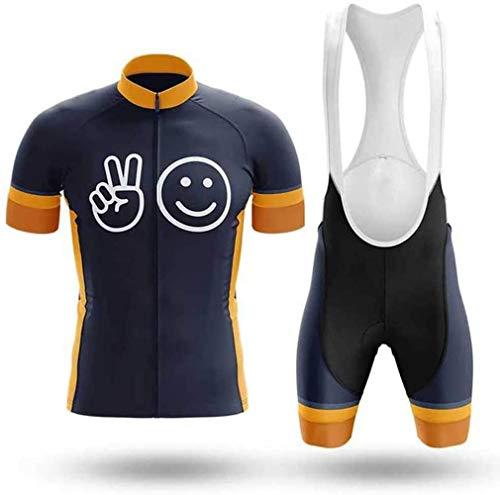 Traje de Ciclismo para Hombre Culotte y Maillot con 9D Gel Pad...