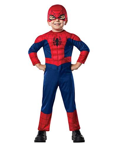 Horror-Shop Spiderman Muskel Kleinkinderkostüm für Fasching Toddler