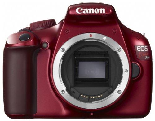 Canon デジタル一眼レフカメラ EOS Kiss X50 ボディ レッド KISSX50RE-BODY