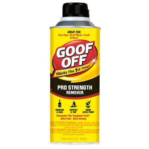 Goof Off FG653 Professional Strength Remover, Pourable 16-Ounce by Goof Off