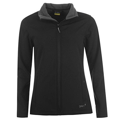 Gelert Damen Softshell Jacke Schwarz UK 10 (S)