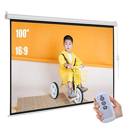 SXKDBD Pantalla de proyector eléctrico motorizado de 100'16: 9...
