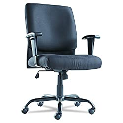 Wide Seat Mid Back Office Chair For Big People