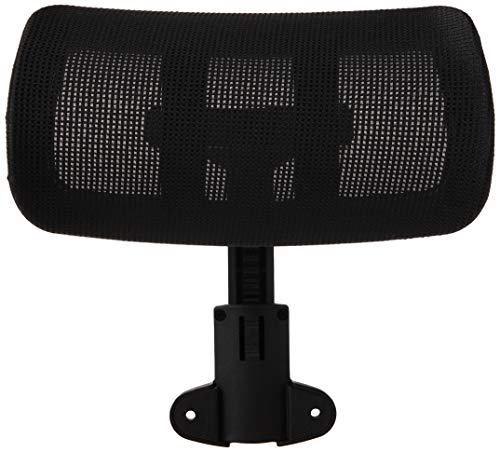 Lorell Hi-Back Chair Mesh Headrest, Black