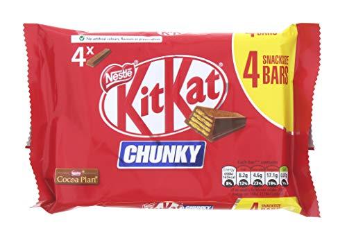 Nestlé Fokit025 Kit Kat Chunky Pack 4, Plástico