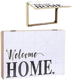 Dcasa Tapa Contador Welcome Home Decorativas de Ventana Muebles Pegatinas Decoración del hogar Unisex Adulto, Multicolor (Multicolor), única