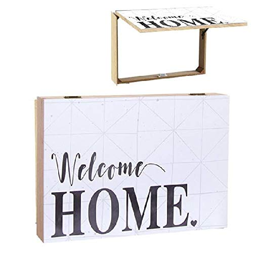 Dcasa Tapa Contador Welcome Home Decorativas de Ventana Muebles Pegatinas Decoración del hogar Unisex Adulto, Multicolor (Multicolor), única