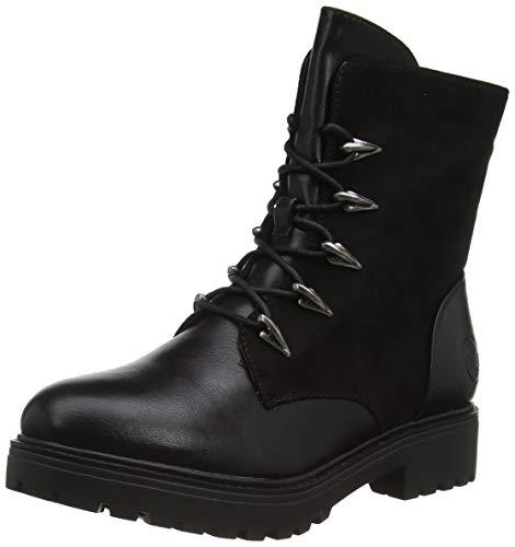 Rieker Damen 90912 Mode-Stiefel, schwarz, 38 EU