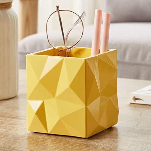 OBOYGANGNQE 1 caja de pañuelos toalla cepillo nórdico olla papel toalla caja creativa papel toalla caja simple rollo de papel cepillo pote