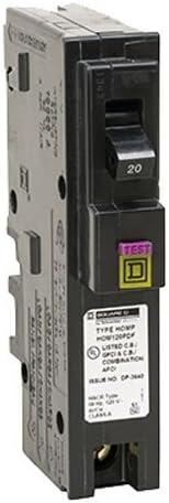 Details about  /Square D 20-Amp QO120 Single-Pole Breaker