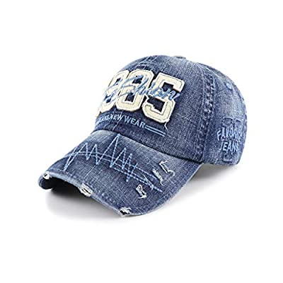 Sports Adjustable Baseball Cap Edge Grinding Do Old Trucker Hat