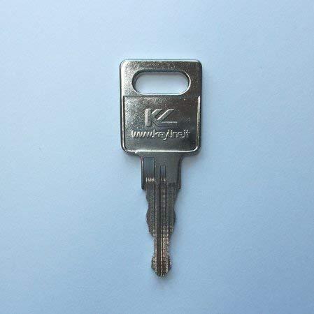 Ersatzschlüssel für ältere Jetbag und Thule Dachboxen, Skiboxen. Schlüsselcode 3001(A) bis 3500(A). Schlüssel TH - Code 3018