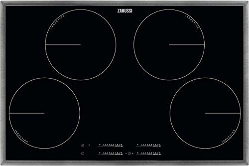 ZANUSSI ZIT 8470 XB/Glaskeramik-Induktionskochfeld/Edelstahlrahmen / 80 cm / 4 Zonen