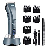 Hair Clippers for Men,Hizek Beard Trimmer Professional Cordless Hair Trimmer with 3 Adjustable