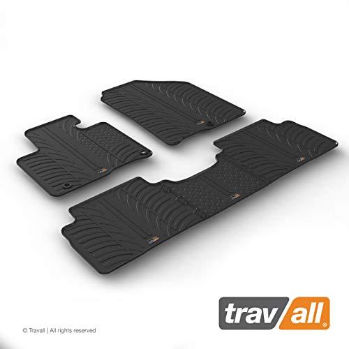 Travall Mats Gummifußmatten Kompatibel Mit Kia Sorento (Ab 2014) TRM1357 - Allwettermatten Nach Maß Fussmatten Set