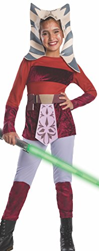 Star Wars Clone Wars Child's Ahsoka Costume, Small - coolthings.us