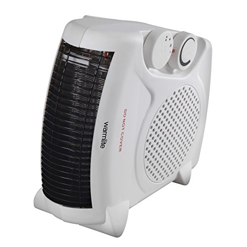 Warmlite Portable Fan Heater, Upright or Flatbed,...