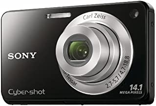 Sony Cyber-Shot DSC-W560 14.1 MP Digital Still Camera with Carl Zeiss Vario-Tessar 4x Wide-Angle Optical Zoom Lens and 3.0...