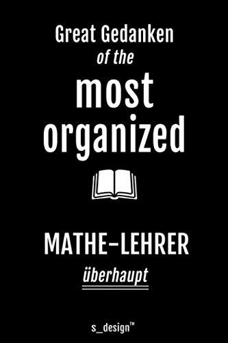Notizbuch für Mathe-Lehrer: Originelle Geschenk-Idee [120 Seiten liniertes blanko Papier]