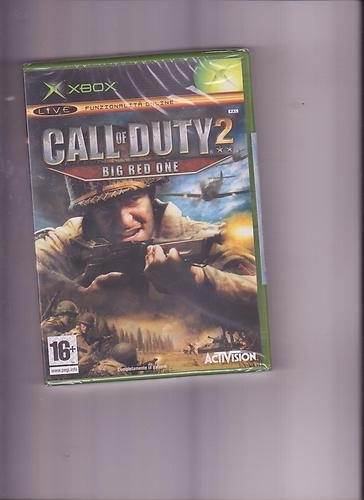 CALL OF DUTY 2 BIG RED ONE XBOX