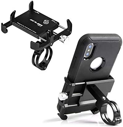 GUB Thick Case Design Bike Motorcycle Phone Mount Handlebar Holder Adjustable Compatible with product image