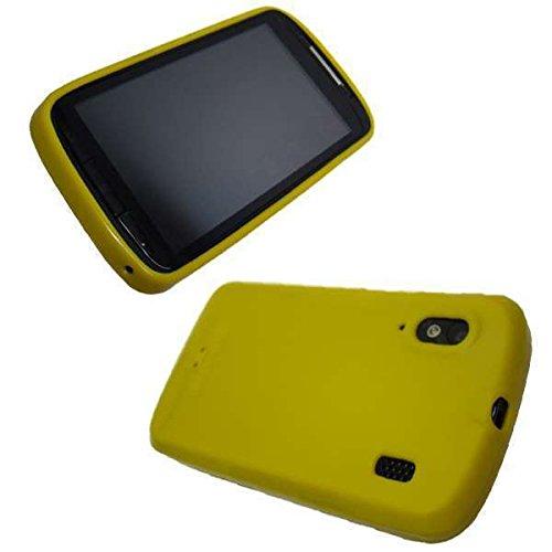 caseroxx TPU-Hülle für Base Lutea 2, Handy Hülle Tasche (TPU-Hülle in gelb)