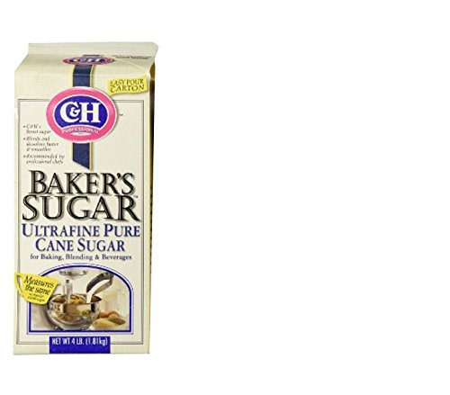 C&H Professional BAKER'S SUGAR Ultrafine 4lb