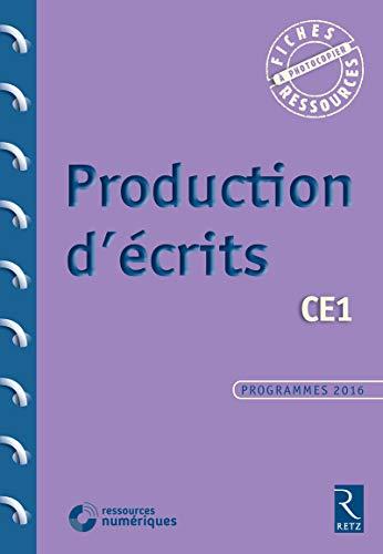 Production d'écrits CE1 (+ CD-Rom)