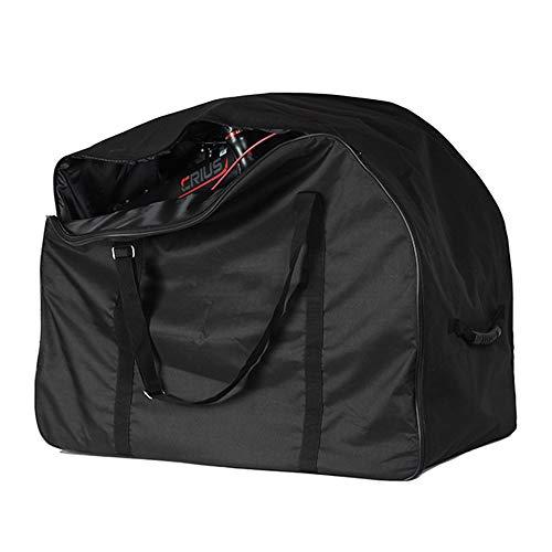 Folding Bike Carry Bag, Custodia Travel con la Rotella - Borse di Trasporto Impermeabili Adatto per 16 Pollici a 22 Pollici Ruote Diametro di Various Biciclette