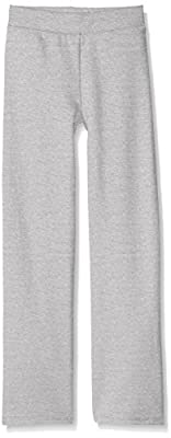 Hanes Girls' Big Girls' Comfortsoft Ecosmart Open Bottom Fleece Sweatpant, Light Steel, M from Hanes Women's Activewear