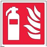 vsafety 13012am-s extintor Logo Equipo Señal, vinilo...