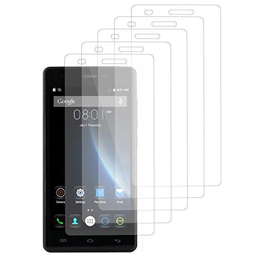 VComp-Shop® 5x Transparente Bildschirmschutzfolie für DOOGEE X5/ X5S/ X5 Pro - TRANSPARENT