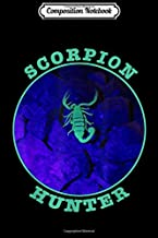 Composition Notebook: Scorpion Hunter Switch a UV Light at Night Watch  Journal/Notebook Blank Lined Ruled 6x9 100 Pages
