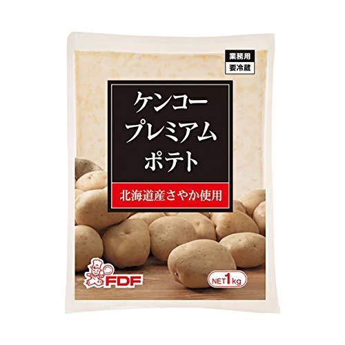 【冷蔵】 ケンコーマヨネーズ プレミアムポテトサラダ 1kg 北海道産さやか使用 業務用 洋風 おつまみ